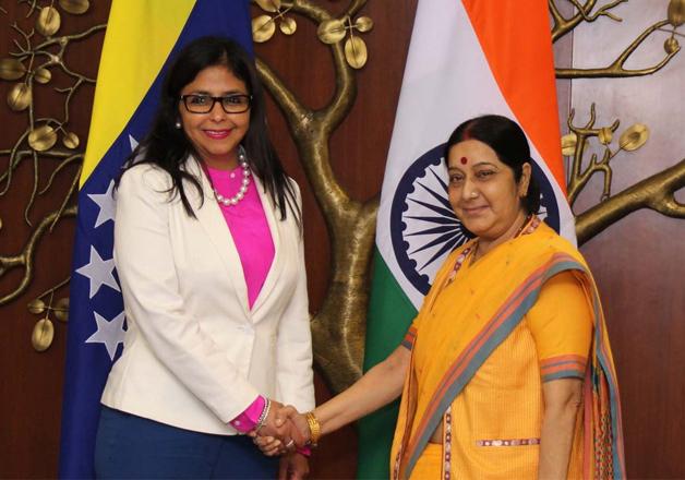 Venezuela extends NAM Summit invitation to Sushma Swaraj