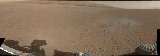 India Tv - NASA's Curiosity rover beams 360-degree panorama of Mars