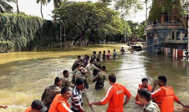 Flood-hit areas