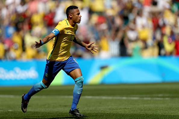 Neymar blasts Brazil to first Olympic soccer gold against
