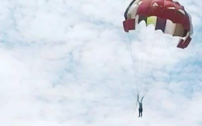 Watch! 53-year-old falls to death while parasailing in Coimbatore