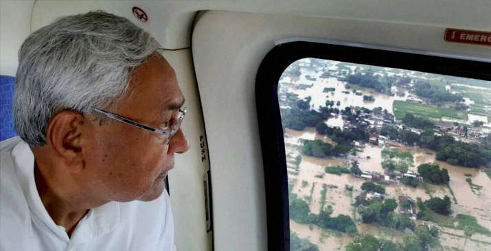India Tv - Nitish Kumar floods