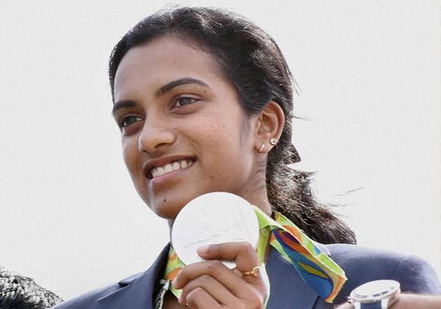 Olympic silver medallist PV Sindhu