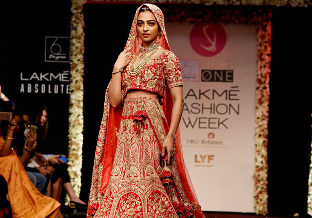 Radhika Apte was scared to walk the ramp at Lakme Fashion