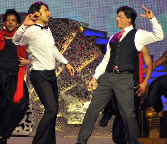 SRK and Ranveer