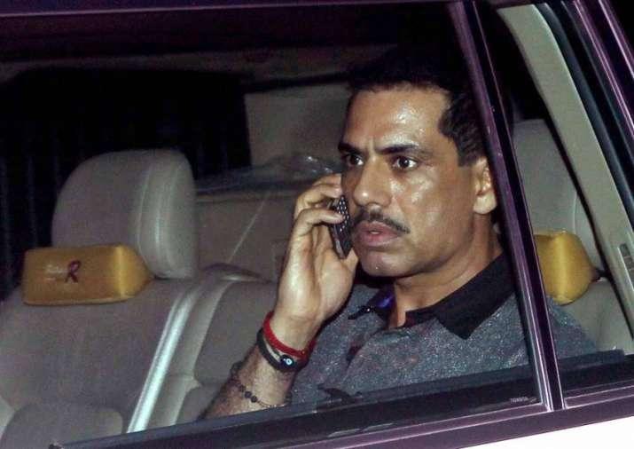 Sonia Gandhi's son-in-law Robert Vadra