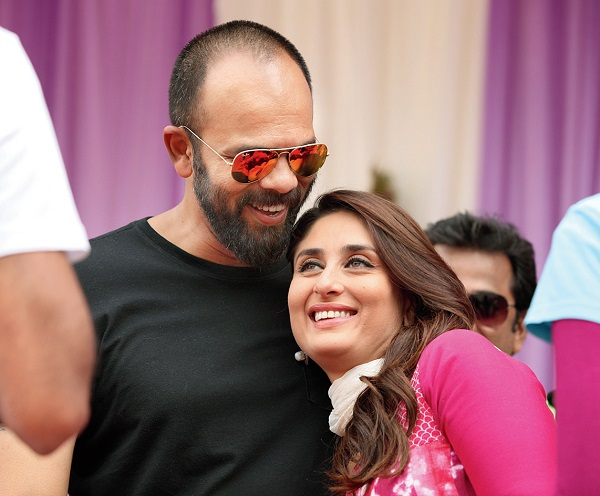 Rohit Shetty and Kareena Kapoor