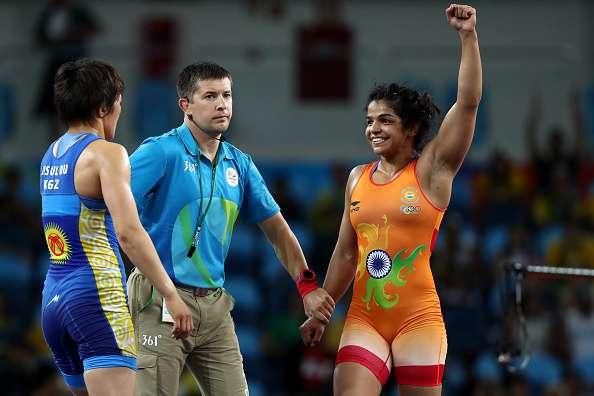 India Tv - Sakshi Malik wins Bronze Medal in wrestling 58kg category