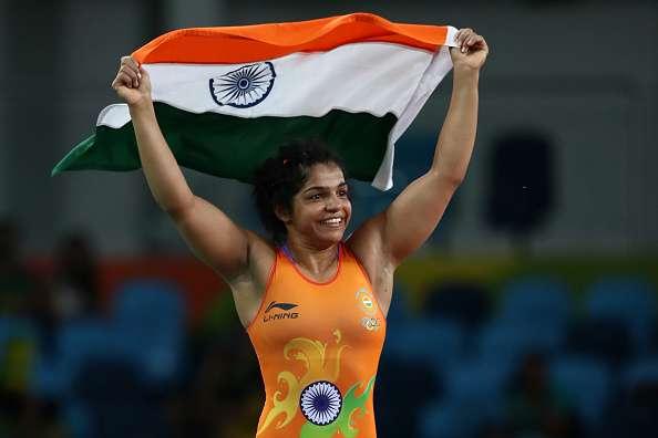 Sakshi Malik wins Bronze Medal in wrestling 58kg category
