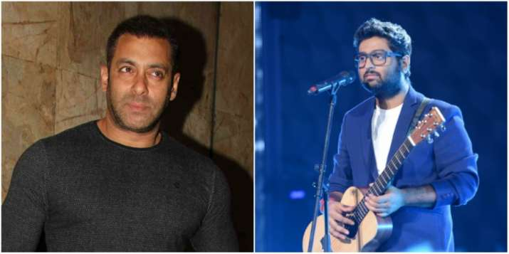 Arijit says no one can stop him from singing in Salman's