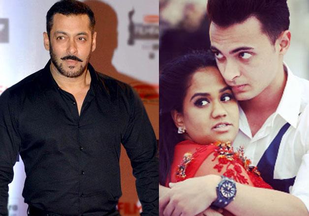 Salman Khan and Arpita Khan