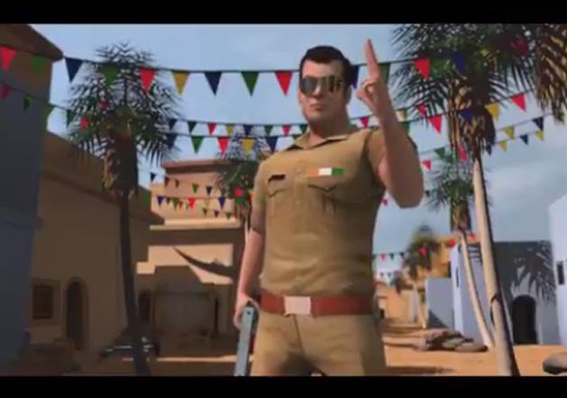 Salman Khan launches 'Being SalMan' game.
