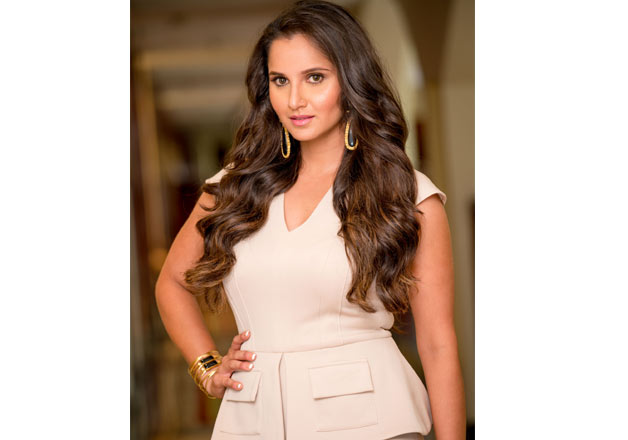 India Tv - Sania Mirza graces cover of Exhibit magazine's August 2016 edition