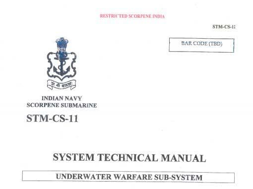 A new set of leaked Scorpene documents released today