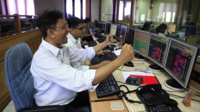Sensex gains over 400 points