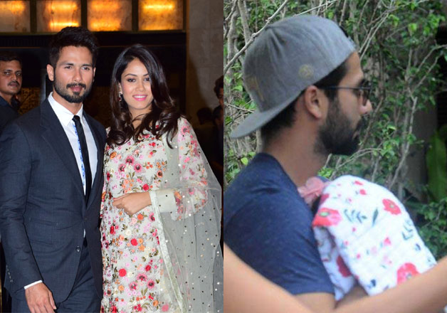 Check out the first pics of Shahid-Mira's newly born