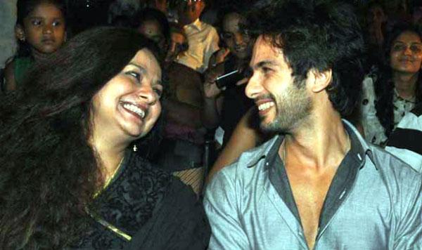 India Tv - Shahid Kapoor with mom Neelima Azeem