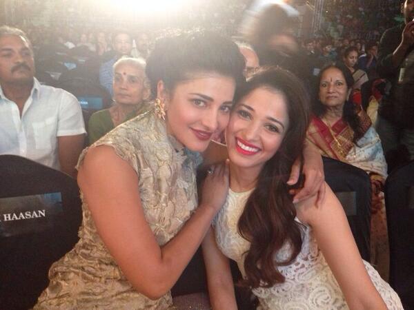Shruti Haasan to croon for Tamannaah Bhatia
