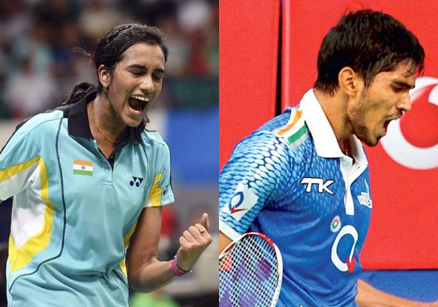 Shuttlers K Srikanth, P V Sindhu | India TV