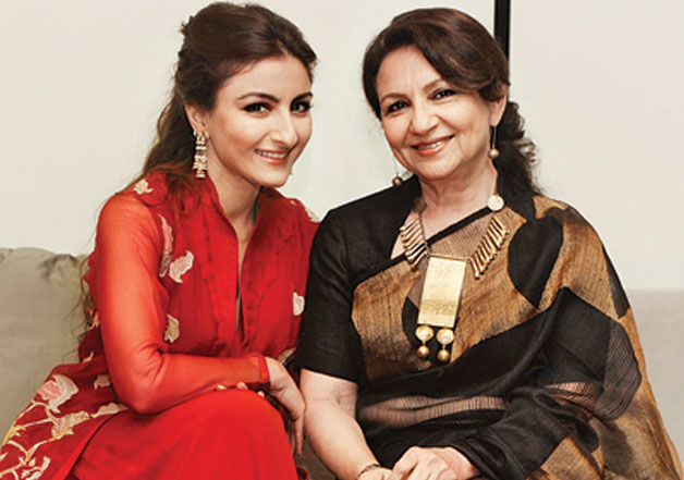 Image result for soha ali khan look alike sharmila tagore
