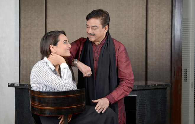 Papa Shatrughan is proud of Beti Sonakshi