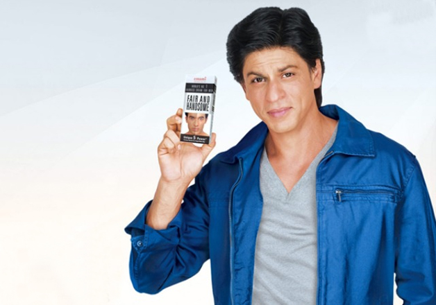 Shah Rukh Khan in Fair and Handsome ad