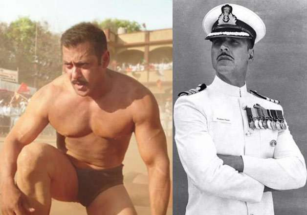 Salman Khan in Sultan, Akshay Kumar in Rustom