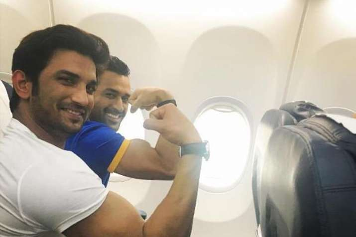 Sushant and Dhoni