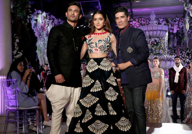 Sushant Singh Rajput, Shraddha Kapoor turns muse for Manish