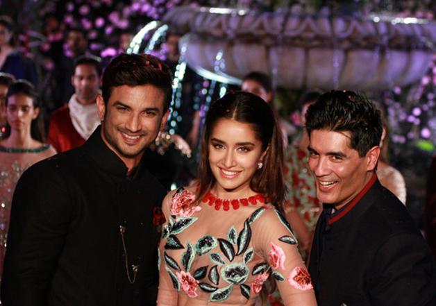Sushant and Shraddha walked for Manish Malhotra