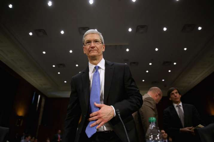 Apple CEO Tim Cook has flayed the EU's back tax demand