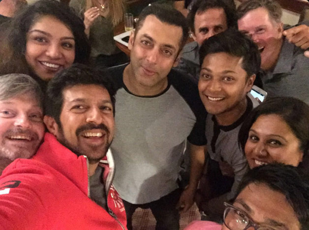 Salman Khan with team of 'Tubelight'