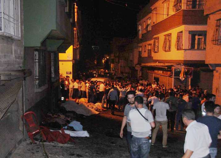 Wedding blast in southeast Turkey