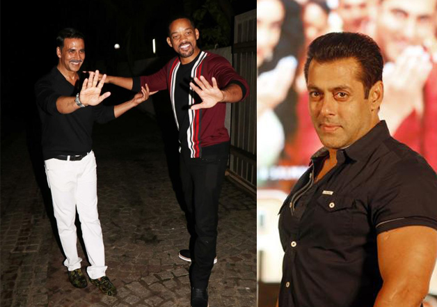 Next on Will Smith's itinerary: A party with Salman Khan?