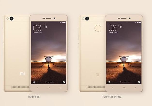Xiaomi Redmi 3S, Redmi 3S Prime on sale