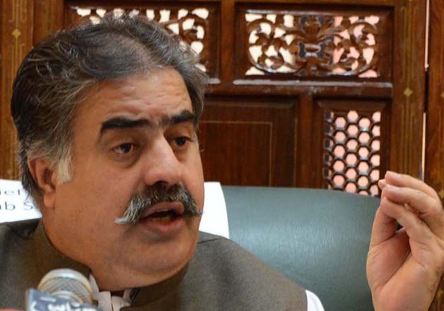 Balochistan Chief Minister Nawab Sanaullah Zehri