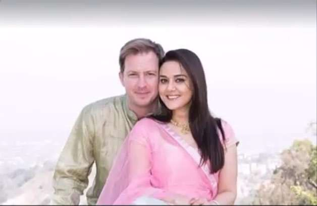 India Tv - Preity Zinta and Gene Goodenough's mehendi ceremony