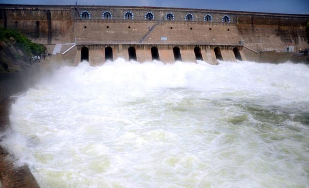 FILE:Dam on Cauvery river