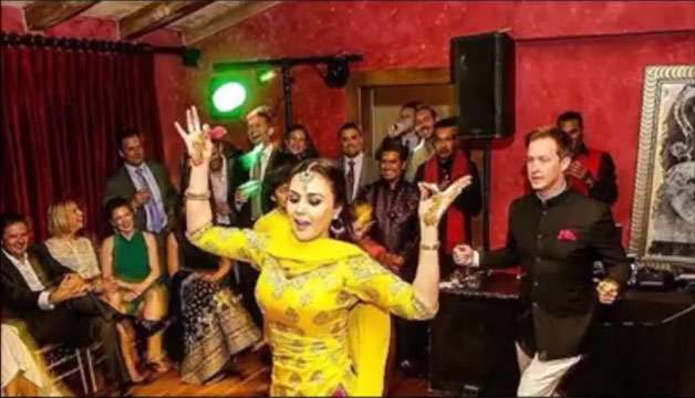 India Tv - Preity Zinta and Gene Goodenough's sangeet ceremony