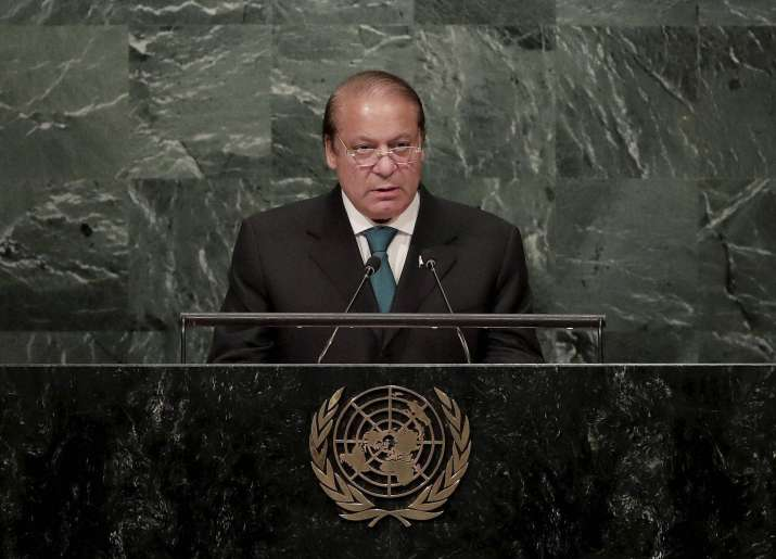 FULL TEXT: Nawaz Sharif hails terrorist Burhan Wani at UN
