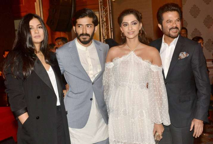 When father Anil Kapoor almost broke into tears at music