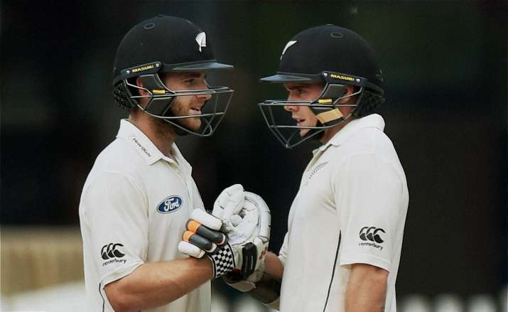 Latham, Williamson put Indians on backfoot, Kiwis at 152/1