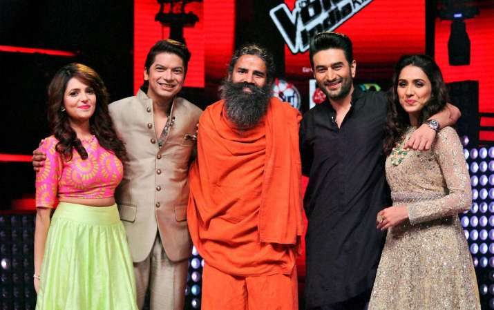 Baba Ramdev to appear on the stage of 'The Voice India