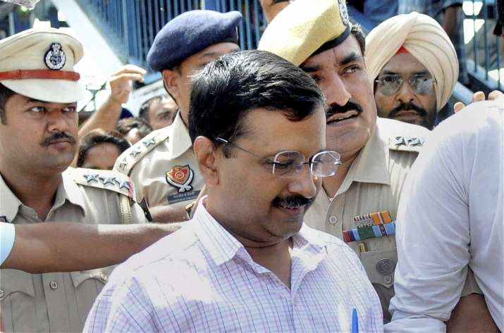 AAP supremo Arvind Kejriwal
