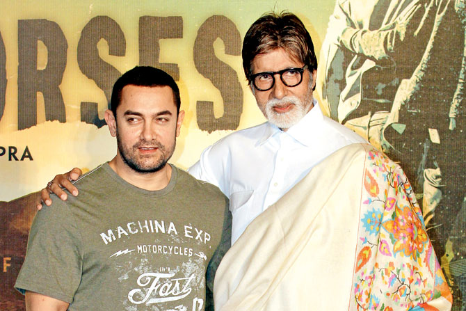 Aamir doles out important details about movie with Big B