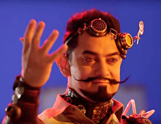 India Tv - Is this Aamir's new funky look for 'Secret Superstar'?