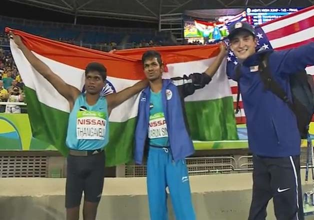 Mariyappan Thangavelu and Varun Singh Bhati win medals at