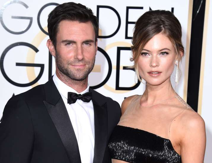 Adam Levine shares photograph of newly born daughter
