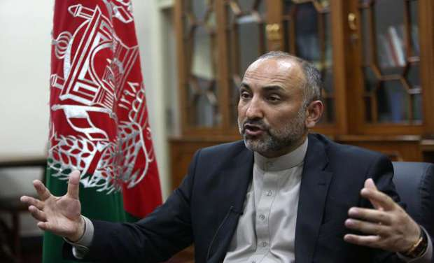 Afghanistan's National Security Adviser Mohammad Hanif