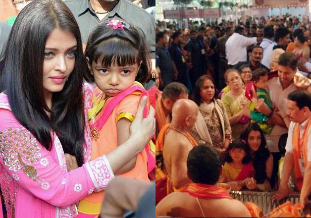Aishwarya's daughter Aradhaya celebrates Ganesh Chaturthi